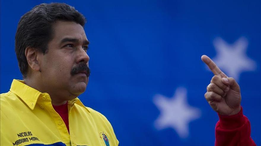 Maduro exige a Rajoy respeto a la soberanía de Venezuela