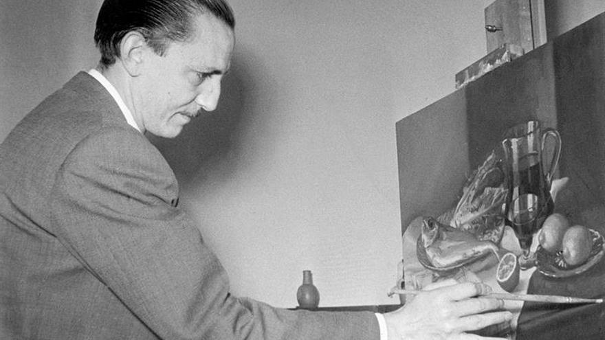 El Buero Vallejo dibujante llega a la Biblioteca Nacional en su centenario