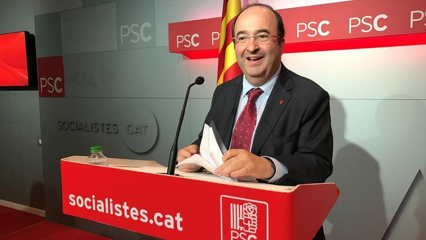 """Iceta (PSC): """"Podemos y Trump tienen rasgos populistas pero creo que no son lo mismo"""""""