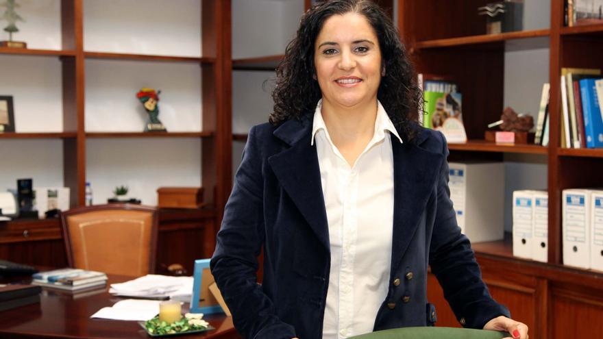Jovita Monterrey es la consejera insular de Asuntos Sociales.