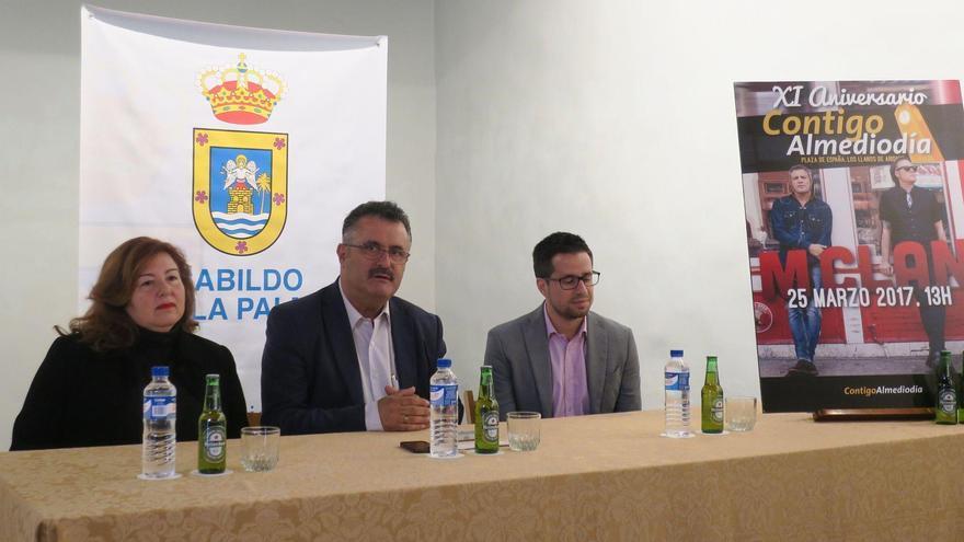 Presentación del undécimo aniversario de 'Contigo Almediodía'.
