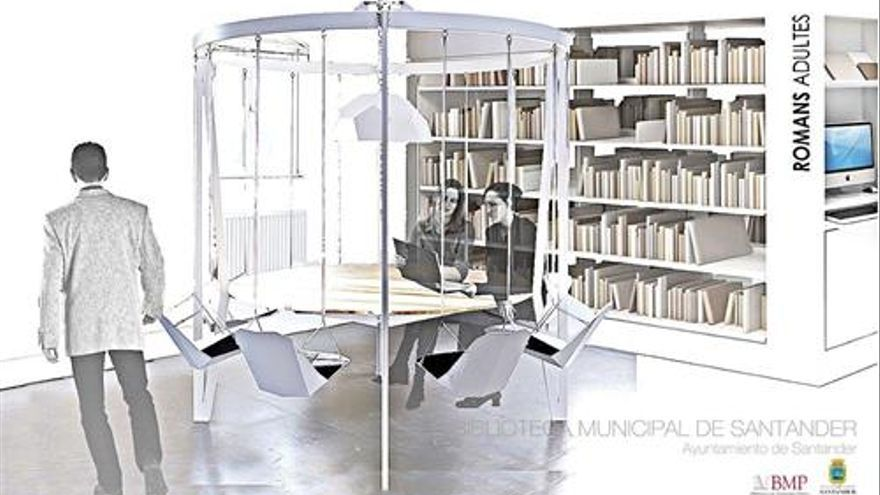 Las obras de la Biblioteca Municipal de Santander se paran por problemas de cimentación