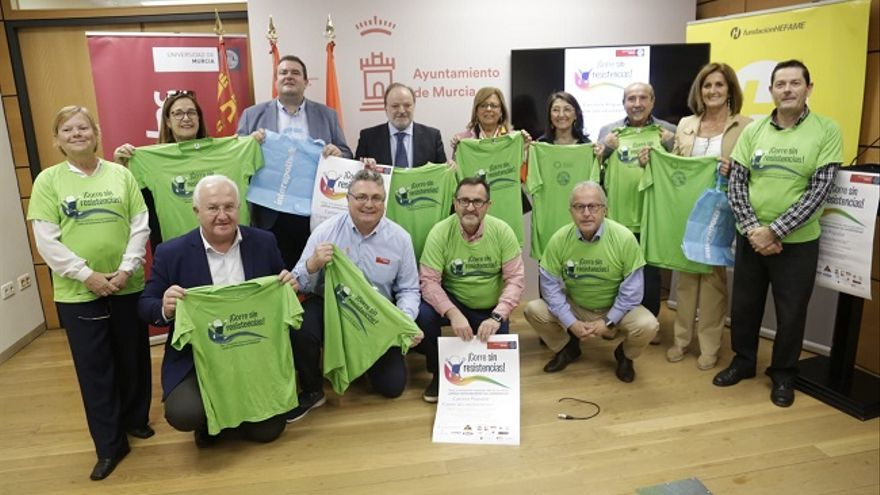 La UMU organiza la carrera 'Corre sin resistencias' para concienciar del consumo adecuado de antibióticos