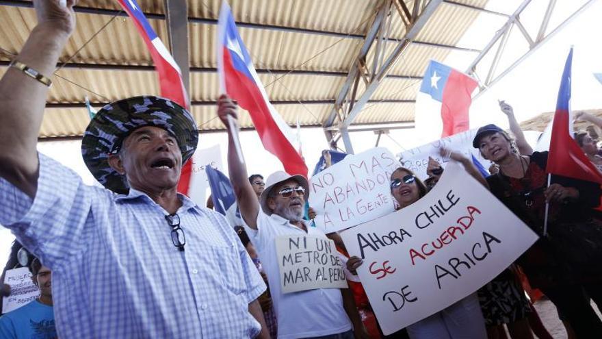 El desenlace del litigio con Perú provoca reacciones dispares en la fronteriza Arica