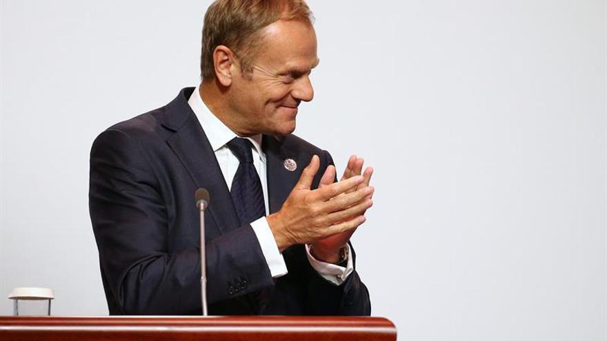 Tusk admite la dificultad en lograr acuerdos con China sobre las disputas marítimas