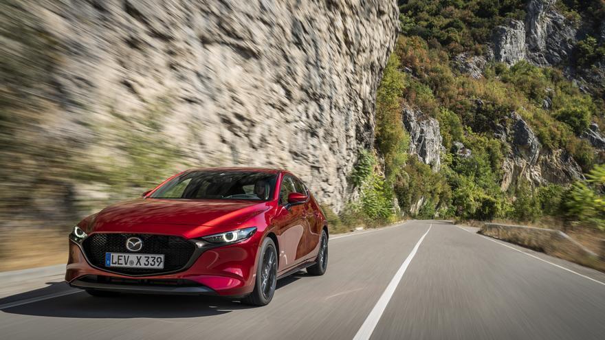 La innovadora tecnología Skyactiv-X de Mazda entrega 180 caballos y 224 Nm.