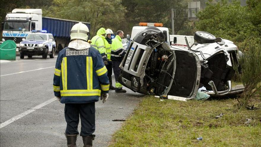 Cuatro personas mueren en las carreteras desde el inicio del fin de semana