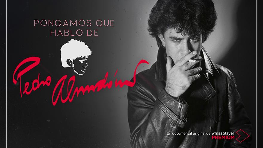 Cartel promocional de 'Pongamos que hablo de Pedro Almodóvar'