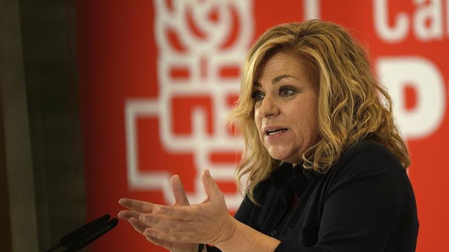 Elena Valenciano apuesta por la ley, la política y el diálogo en Cataluña