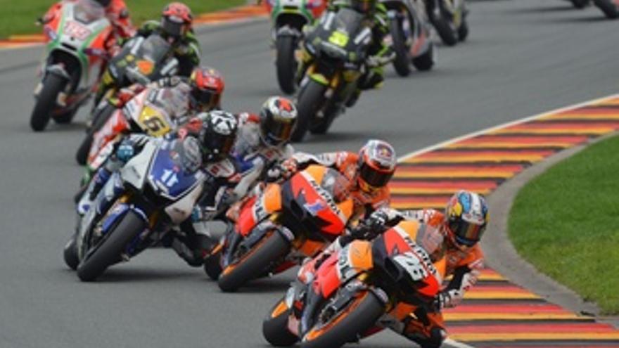 Pedrosa, Stoner, Lorenzo, MotoGP