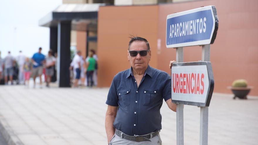 Freddy Bermúdez es chileno, tiene 84 años, vive en situación irregular en Fuerteventura.