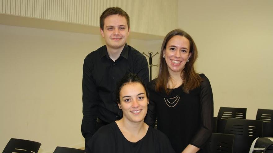 Alumnos del Conservatorio Superior de Música ofrecen este domingo un concierto de flauta, arpa y piano en Pamplona