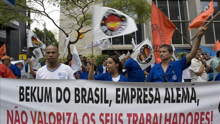 El desempleo en Brasil en octubre fue el menor para ese mes desde 2002