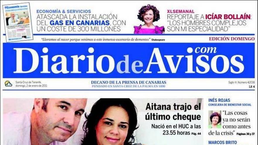 De las portadas del día (02/01/2011) #3