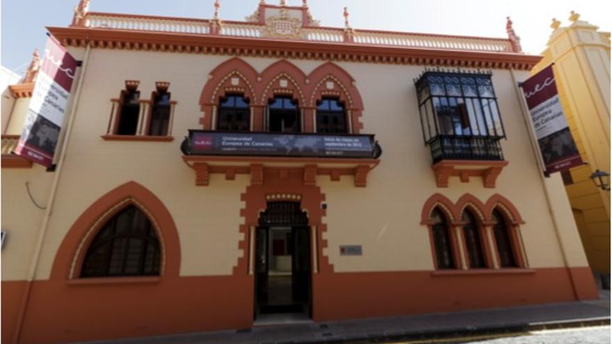Fachada de la Universidad Europea de Canarias
