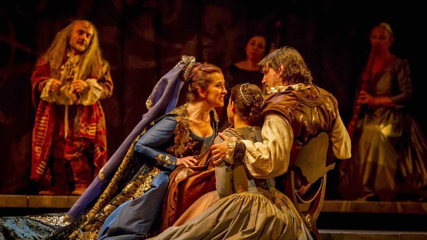 Enrique VIII y la cisma de Inglaterra. Fotografía de la web de la Compañía Nacional de Teatro Clásico