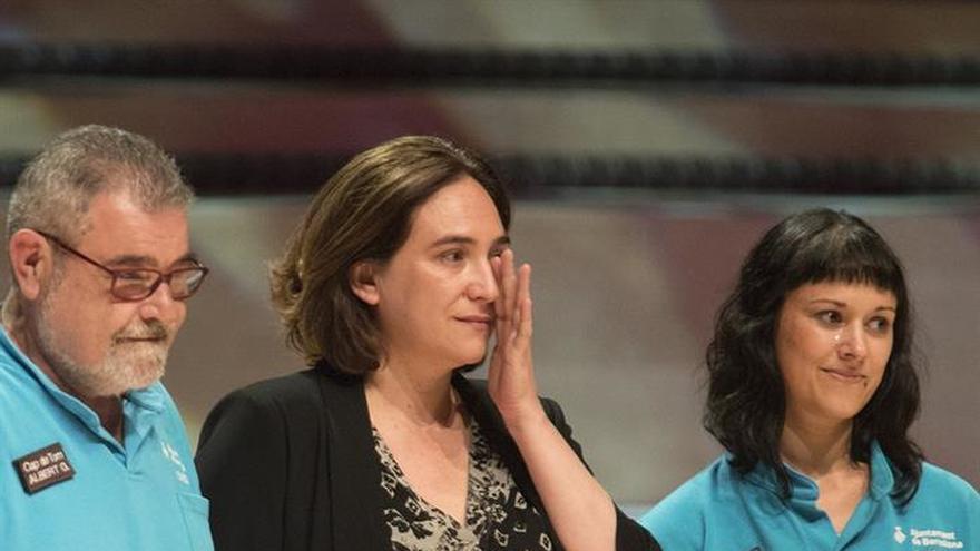 Colau: Cataluña necesita un referéndum, pero sin dejar fuera mitad catalanes