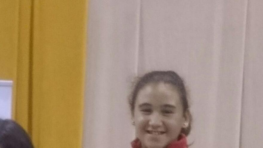 Sheila Camacho es la campeona de España.