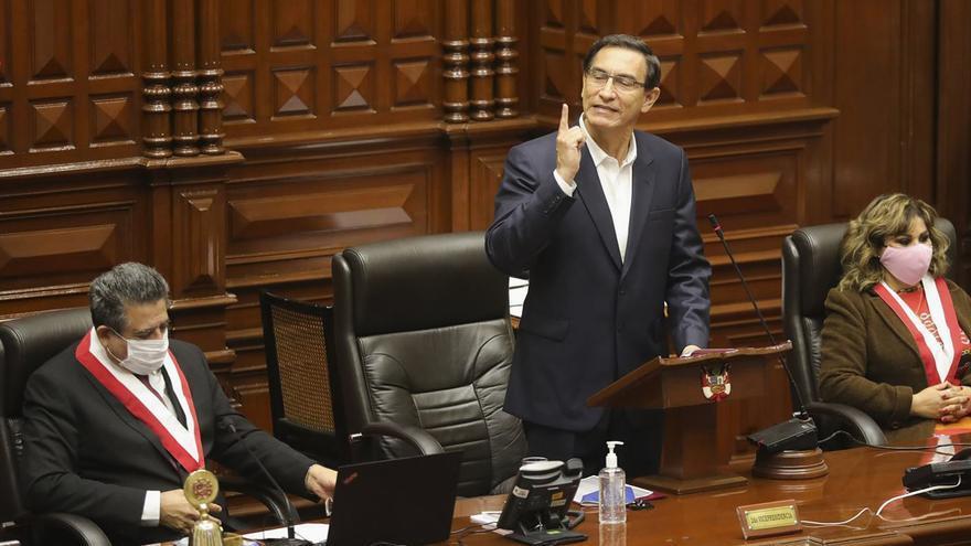 Testimonio contra el presidente Vizcarra abre un nuevo frente de crisis en Perú