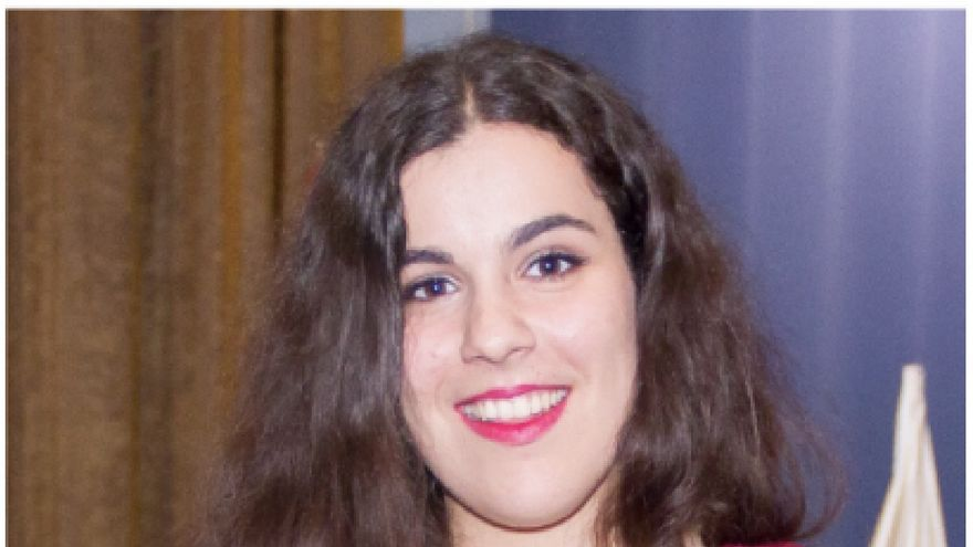 Nira González Rodríguez, alumna de la promoción 2014-2016 del IES Villa de Mazo.