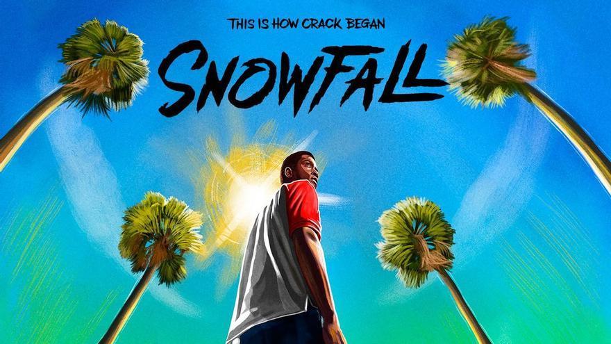 Póster de 'Snowfall', serie de FX distribuida por HBO