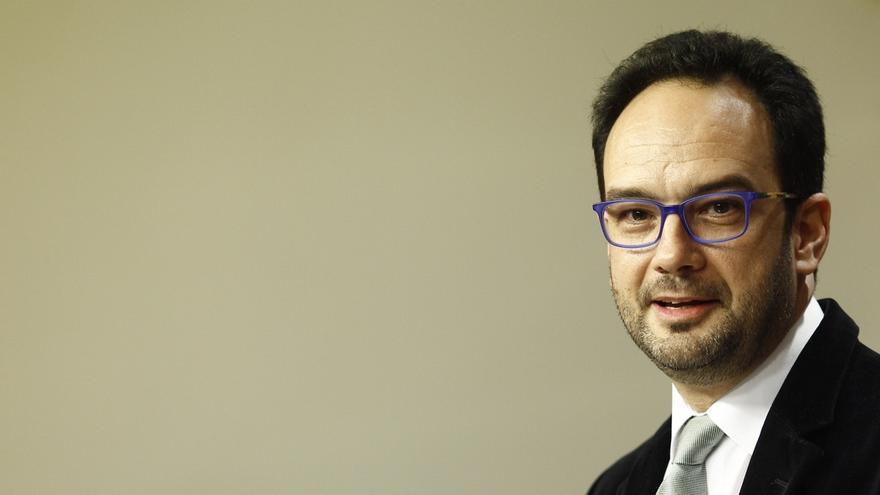 Antonio Hernando encabeza la delegación del PSOE para negociar con Podemos, IU y Compromís