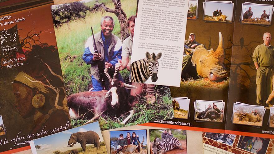 Folletos ofrecidos por la Embajada de Sudáfrica al pedir información general sobre el país. Foto: colectivobritches.com