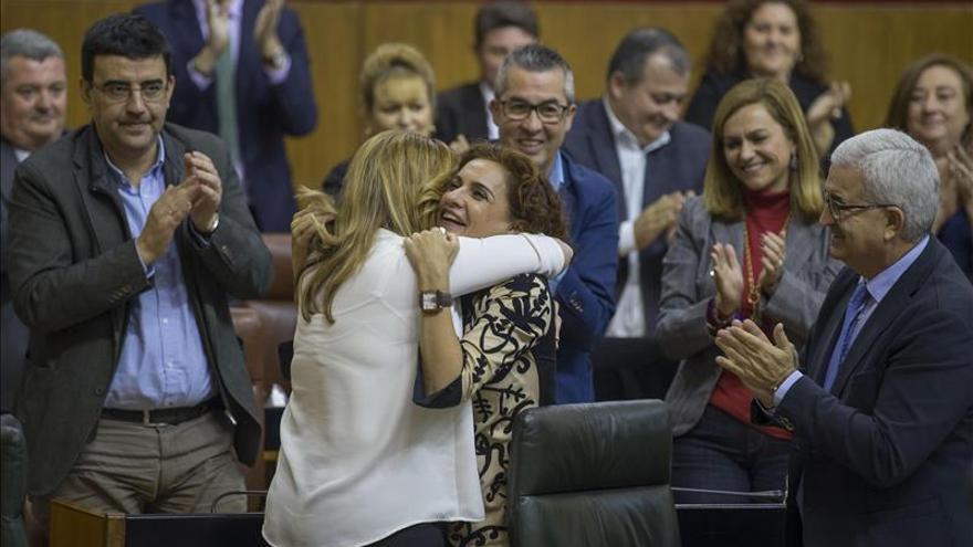 Andalucía aprueba las cuentas de 2016 en un tenso debate sobre el reglamento