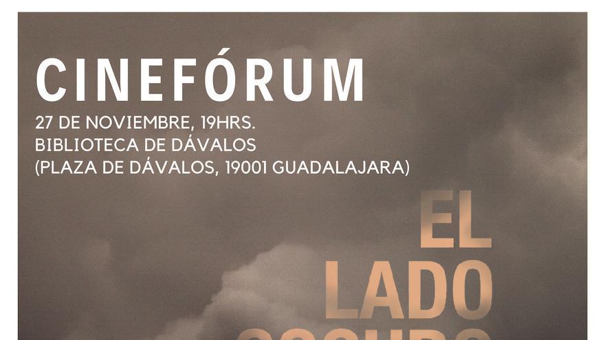 Cartel del Cine-Fórum previsto para este martes 27 de noviembre