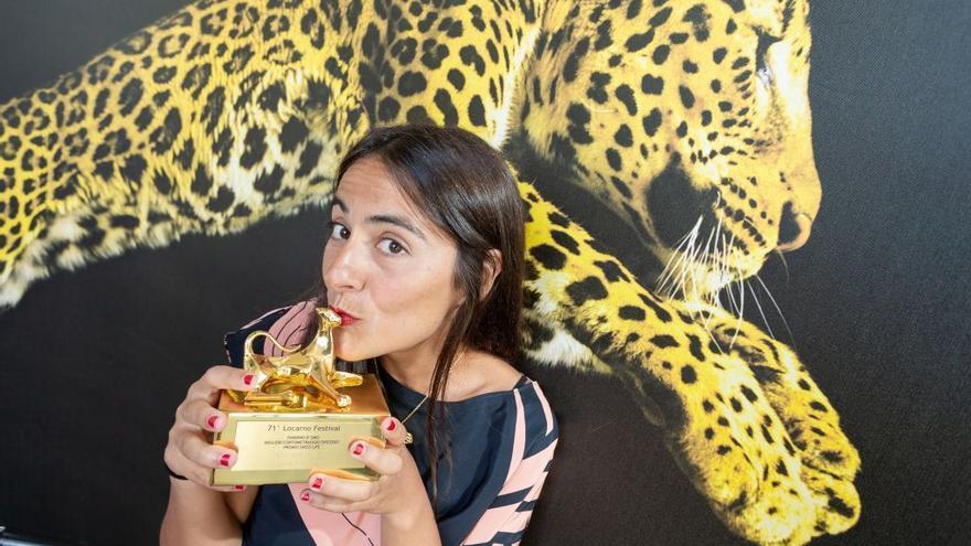 Elena López Riera, premiada por su cortometraje 'Los que desean' en Locarno
