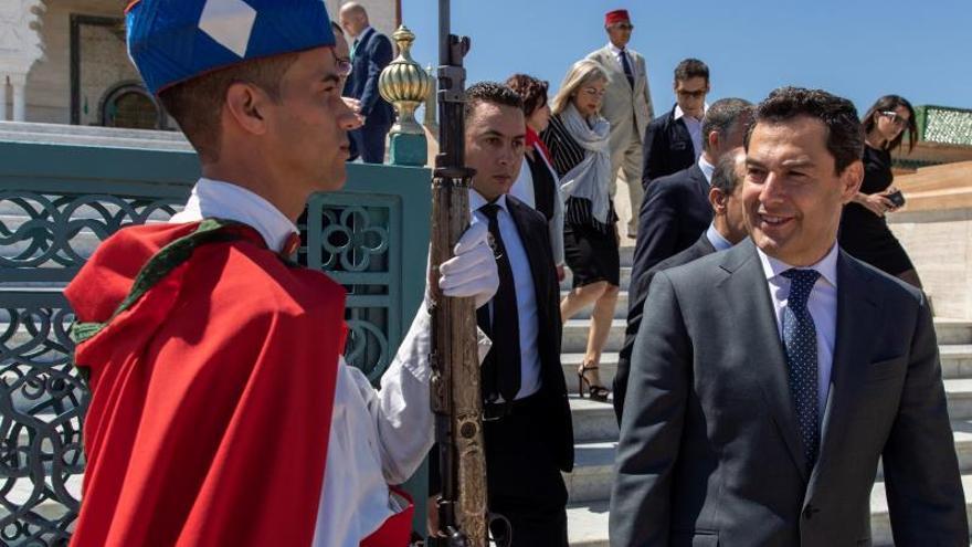 """El PSOE desea a Moreno que logre """"resultados positivos"""" en su visita a Marruecos"""