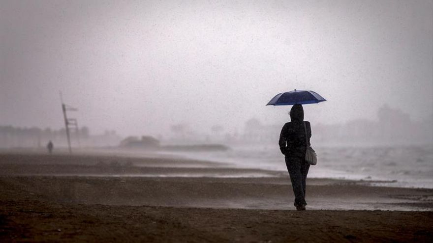 El temporal dejará lluvias torrenciales el fin de semana en este peninsular