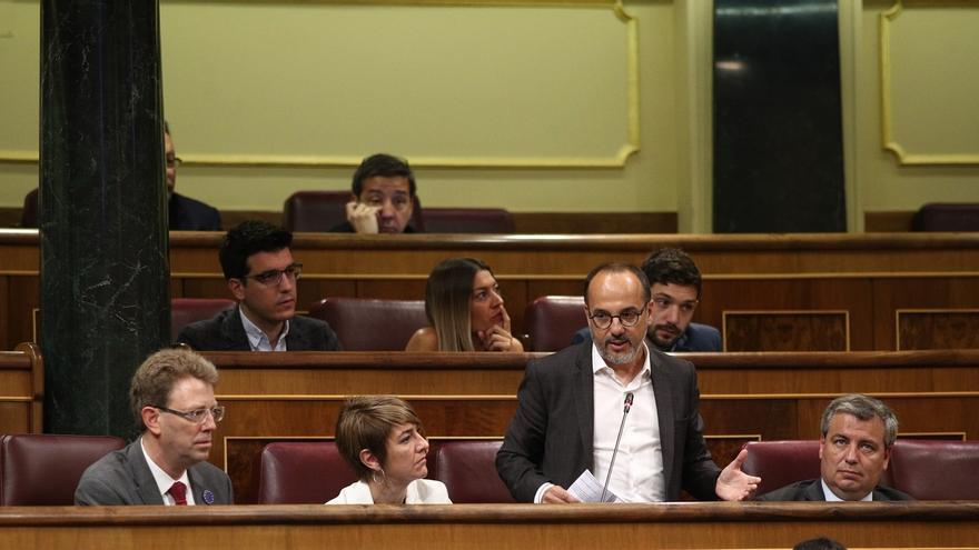 """El PDeCAT 'planta' al Congreso en protesta por el """"represión"""" del Gobierno y la """"humillación"""" a los catalanes"""