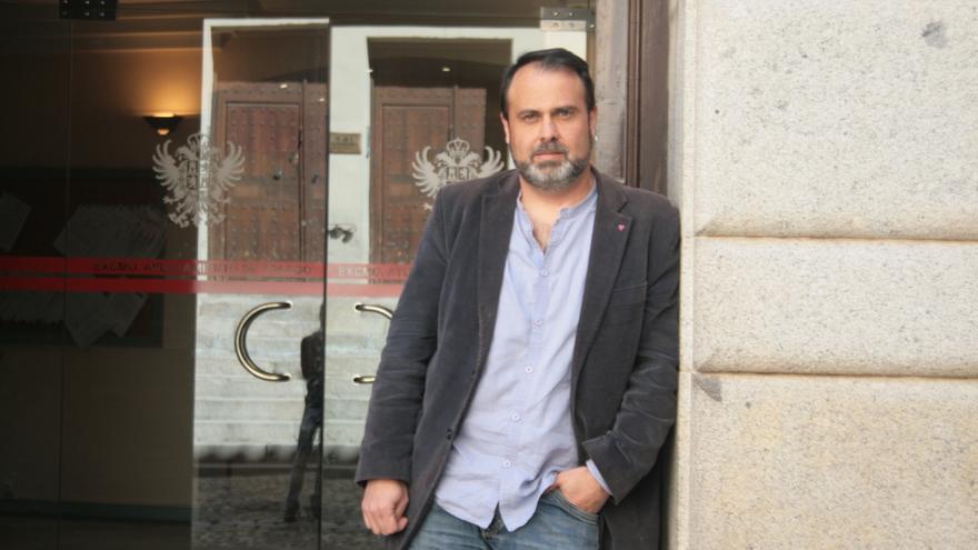 Javier Mateo, coordinador local de Izquierda Unida en Toledo