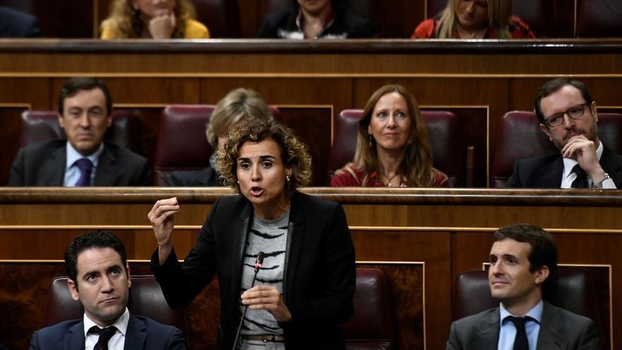 El PP registra en el Congreso su propuesta para quitar subvenciones a los partidos que alienten la violencia en Cataluña
