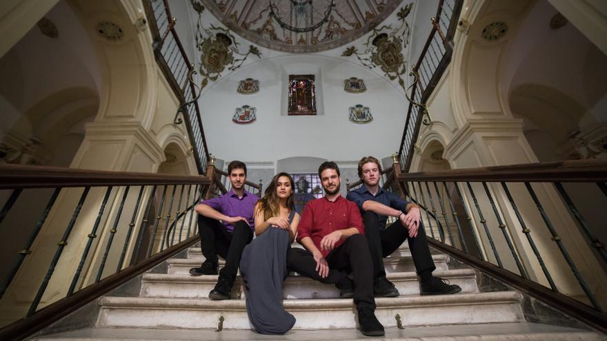 El ensemble La Cantoría, dirigida por Jorge Losana