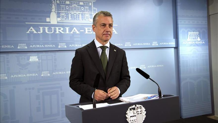 """Urkullu pide a Rajoy un """"paso adelante para abrir la puerta a la negociación"""""""