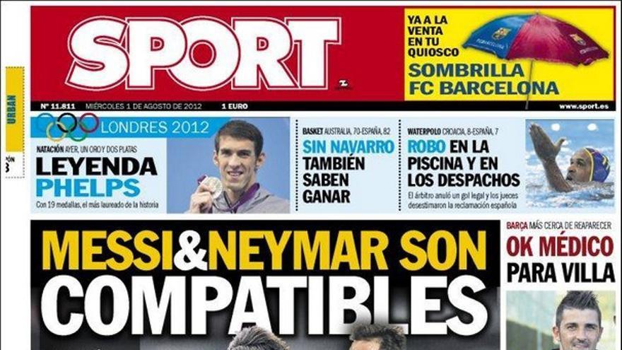 De las portadas del día (01/08/2012) #15