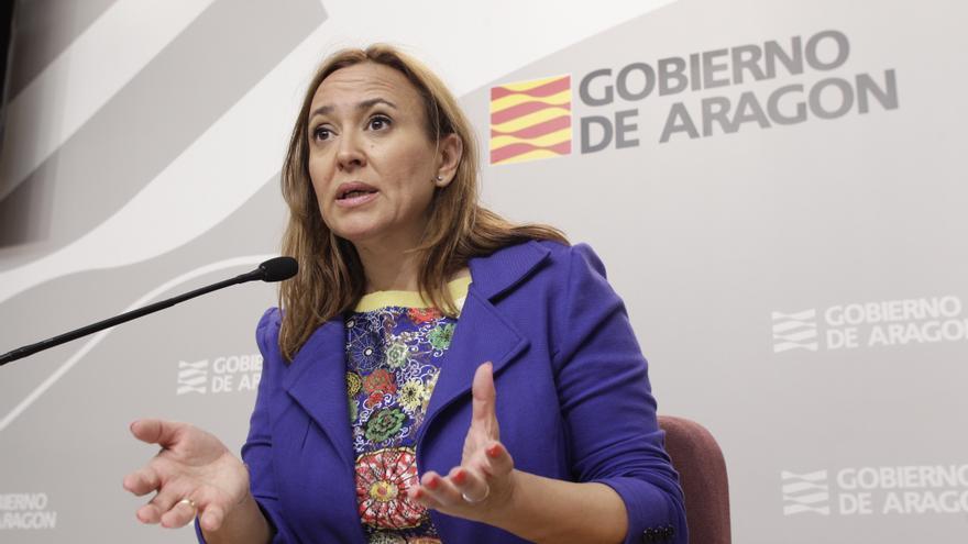 La consejera de Educación, Mayte Pérez. Foto: Aragón hoy