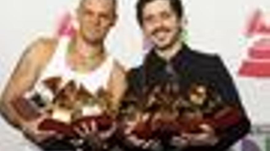 Los puertorriqueños de Calle 13 en la X Edición de los Grammy Latino, 2009