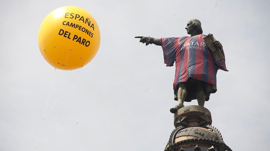 Paro monumental for Oficina del paro barcelona