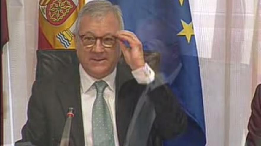 Valcárcel se ha mostrado desafiante ante los grupos de la oposición en la Asamblea Regional de Murcia