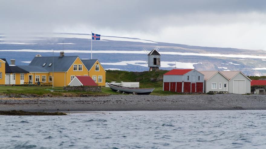 Casas de madera en Isafjordur, una imagen típica islandesa. Richard Tanguy (CC)