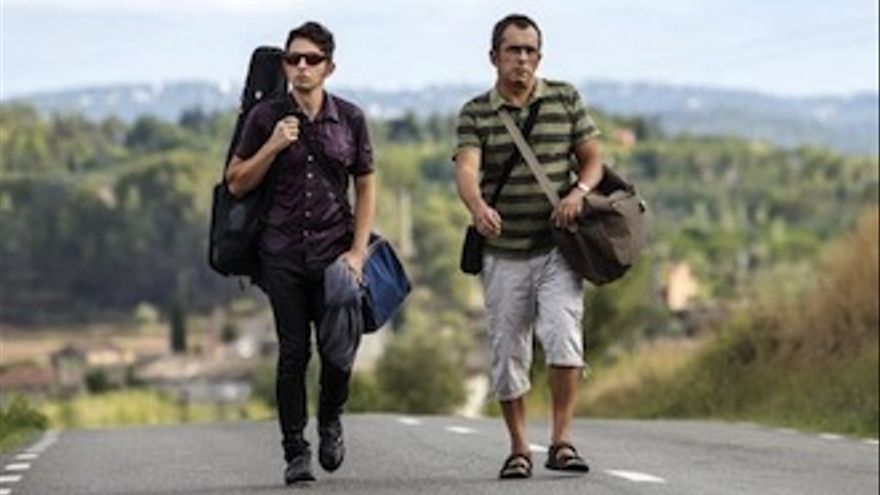 Primera foto de 'El pregón', la película de Buenafuente y Berto