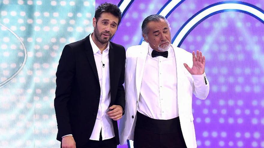 Dani Martínez y Marc De Niro en 'El concurso del año'