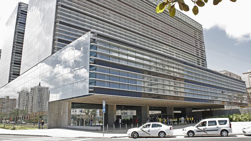 Ciudad de la Justicia de Las Palmas de Gran Canaria. (ALEJANDRO RAMOS)