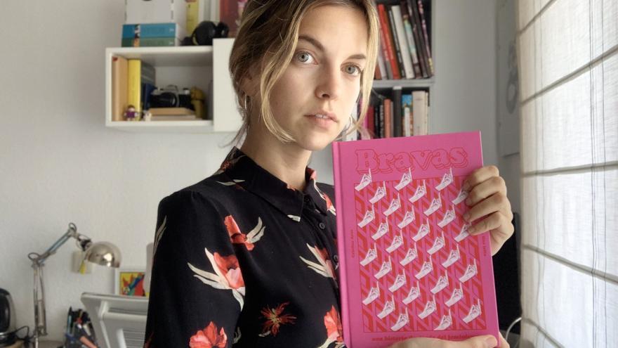 Cristina Arce, autora del libro ilustrado 'Bravas'.
