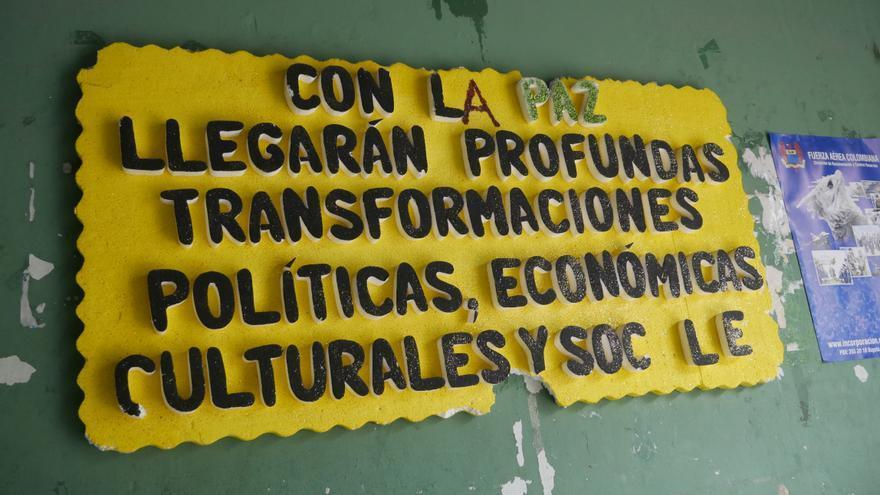 Cartel en la comunidad de Quibdó, Chocó / AI