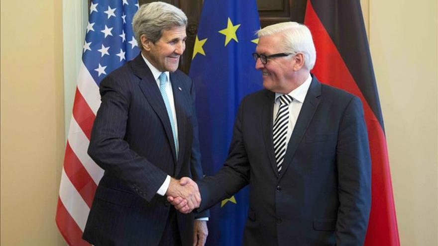 Kerry trata en Berlín el conflicto sirio, en busca de la cooperación de Moscú