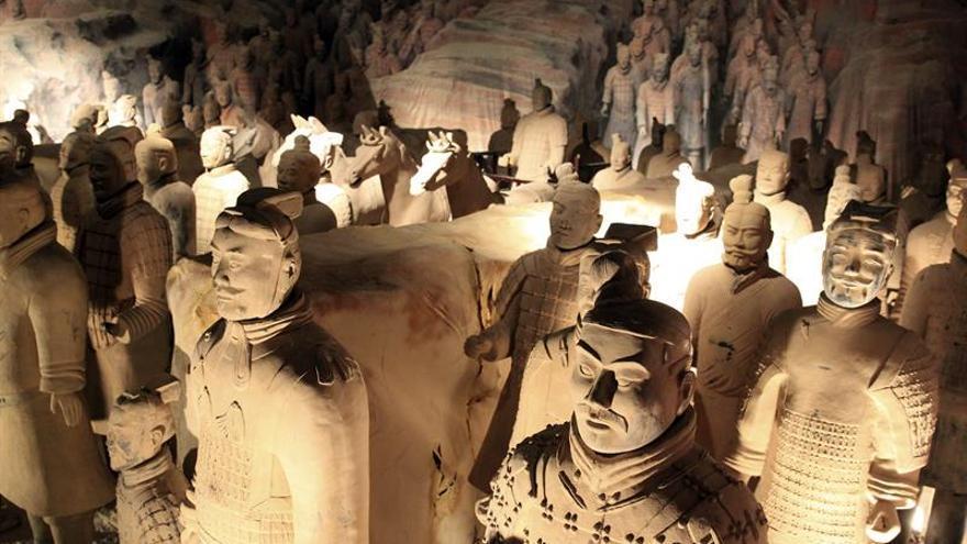 China destruye un falso Ejército de Terracota usado para engañar a turistas